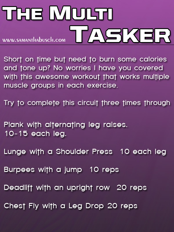The Multi-Tasker Workout