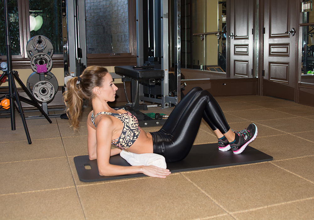 Ab Routine for Those with a Bad Back