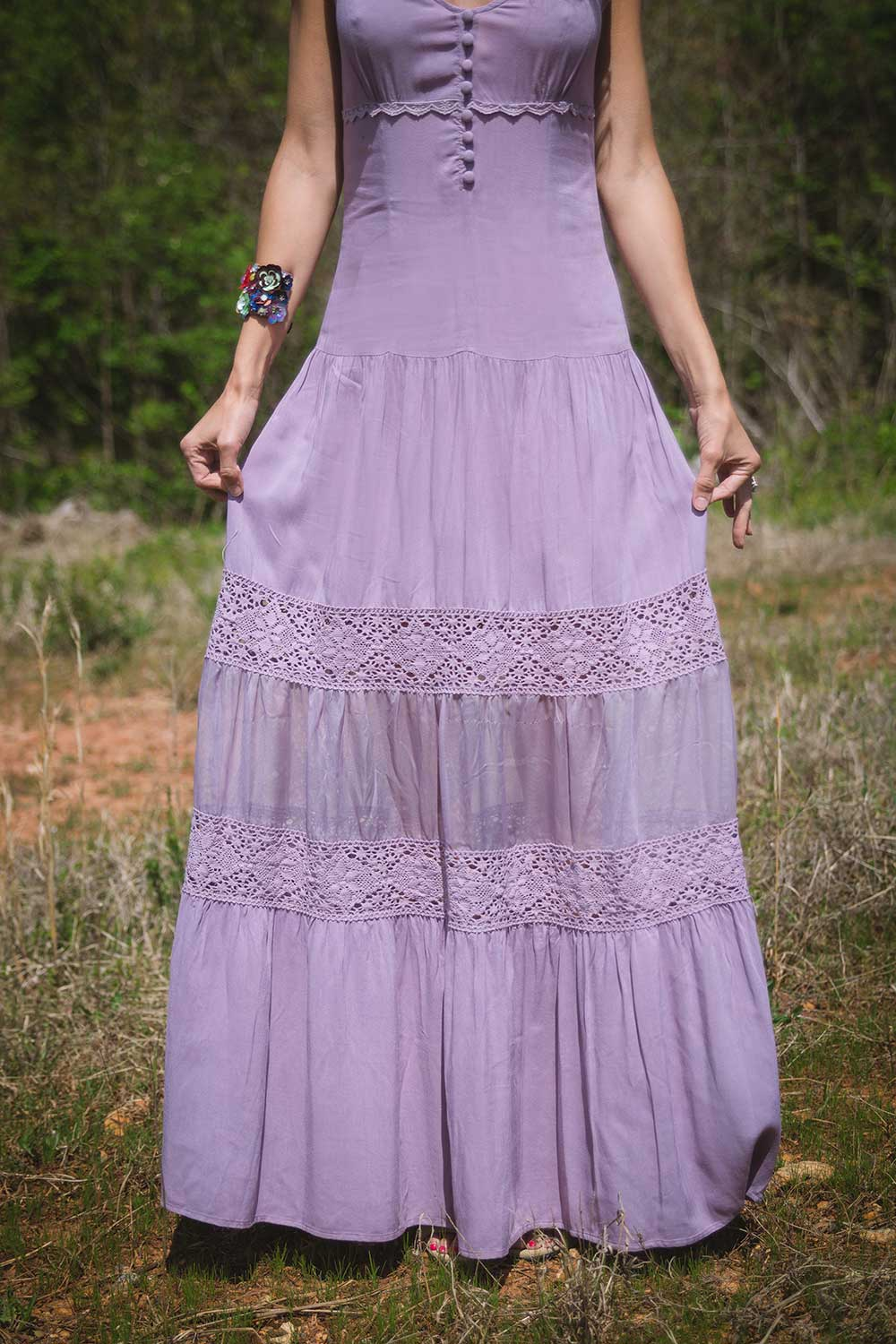 Lilac Dress for Summer 2016