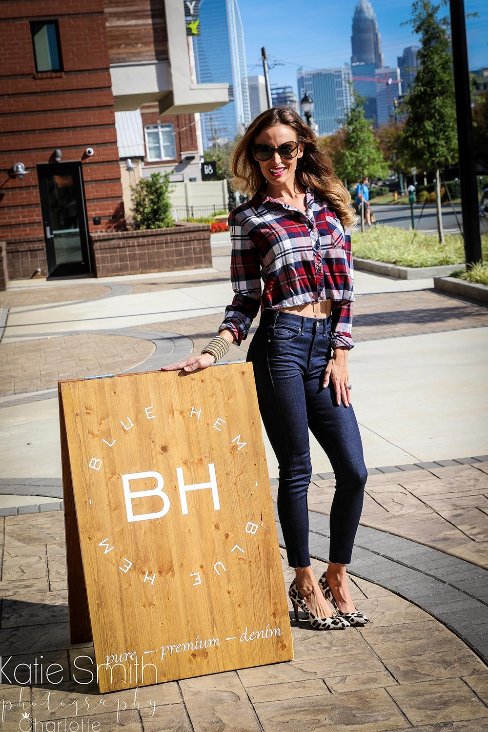 Fall Denim Styling with Blue Hem Boutique