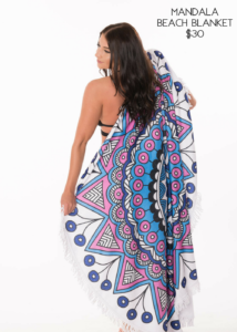 Samantha Busch Murph Boutique Manada Beach Blanket