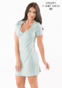 Samantha Busch Murph Boutique Strappy T-Shirt Dress
