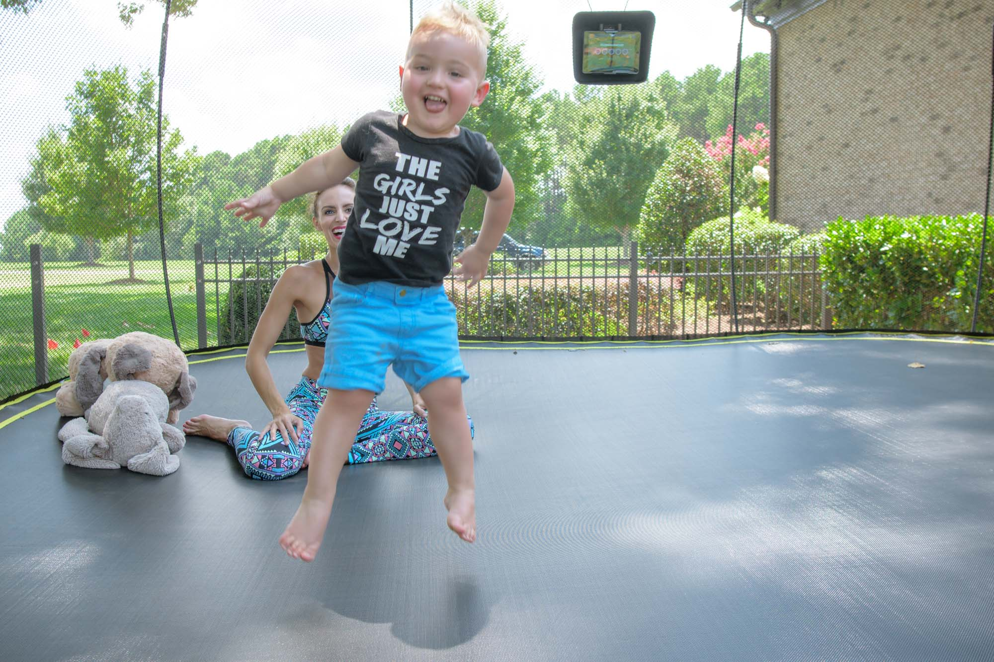 Jumping for Joy with Springfree Trampoline