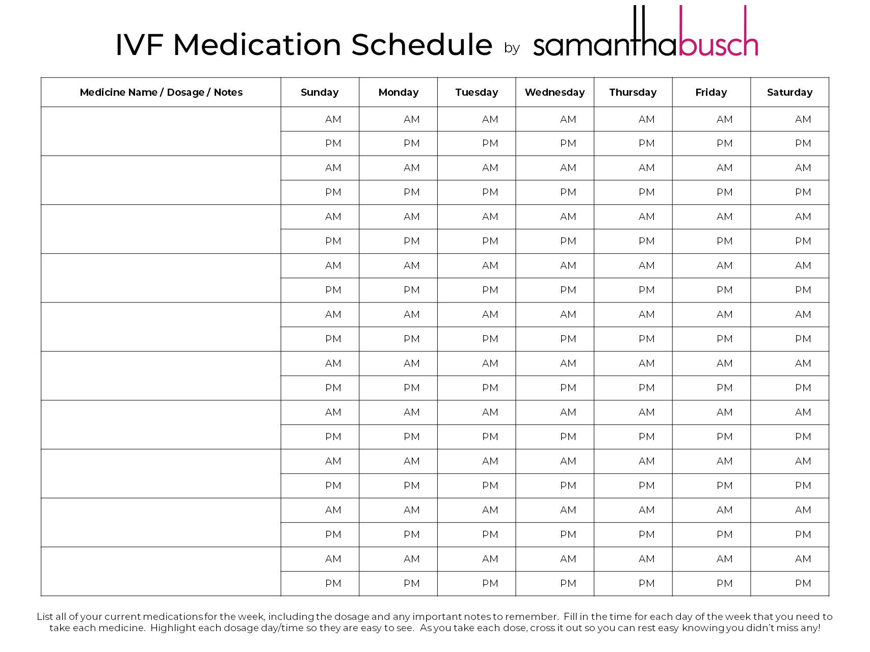 Our IVF Journey: Tips for IVF Shots | Samantha Busch