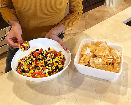 5-Minute Black Bean & Corn Salsa Recipe