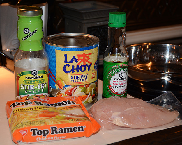 Dinner in a Flash: Ramen Noodle Stir Fry