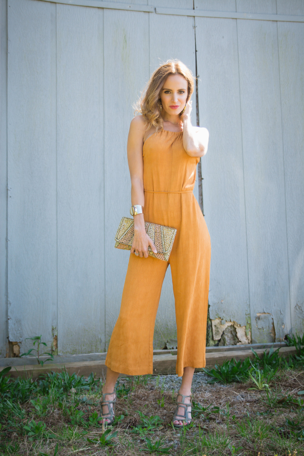 Cropped Jumpsuit Fashion Blogger