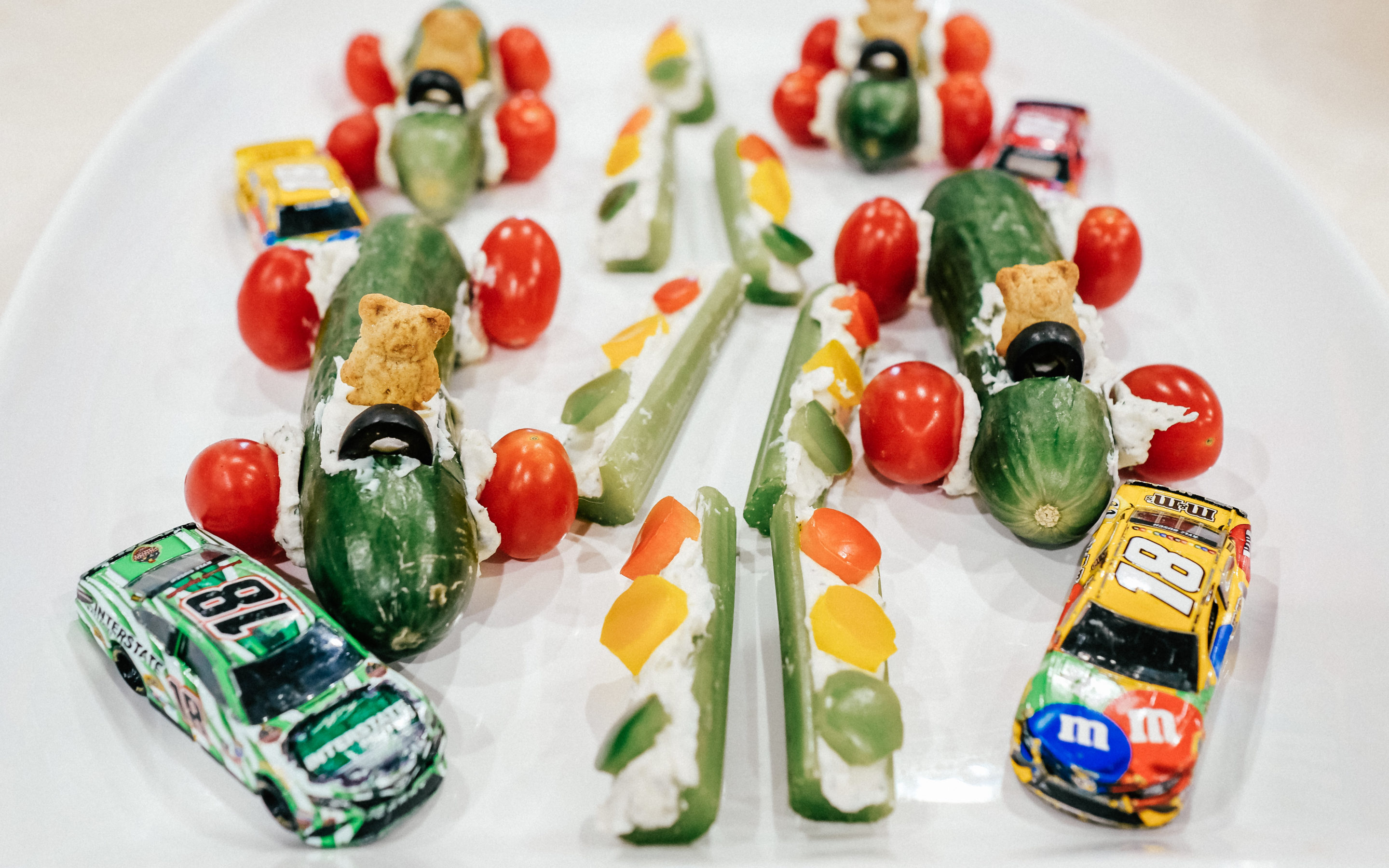 Veggie Race Car Treats
