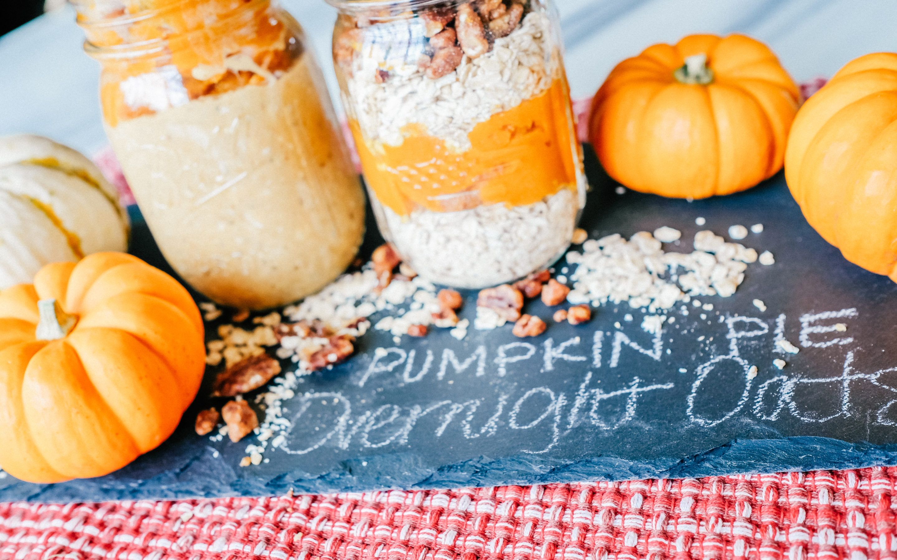 Protein Pumpkin Overnight Oats