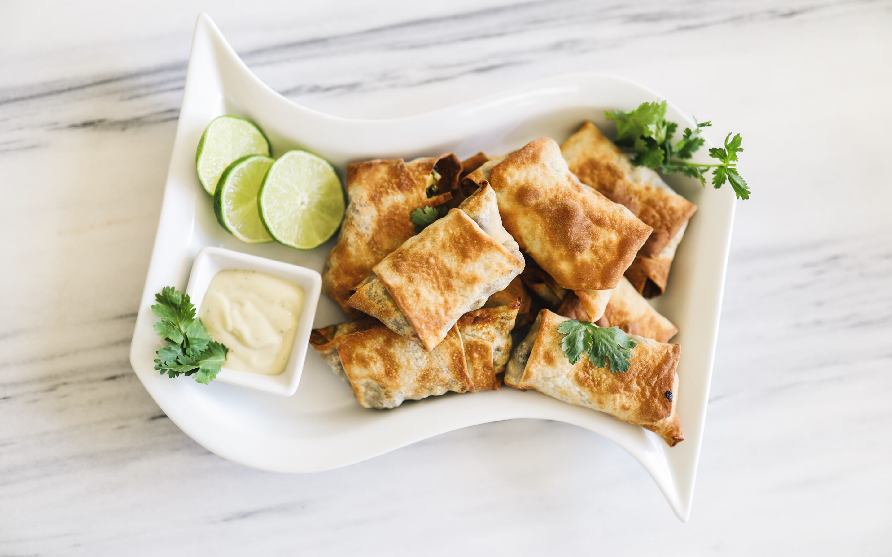 Healthy & Savory Southwest Air Fryer Egg Rolls