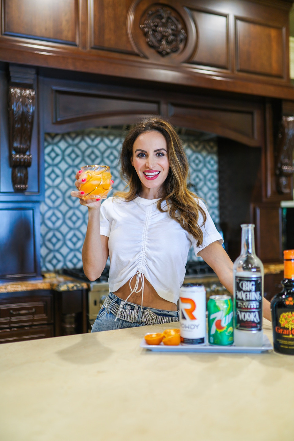 Orange Citrus Rowdy Energy Cocktail Recipe